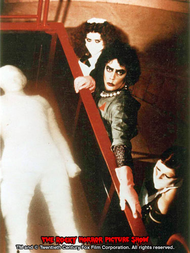 RHPS Photo: Patricia Quinn, Tim Curry and Little Nell