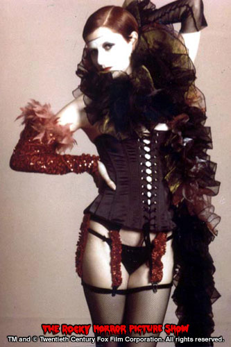 RHPS Photo: Little Nell as Columbia