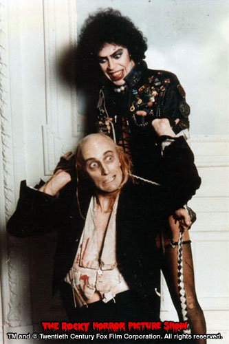 RHPS Photo: Richard O'Brien and Tim Curry