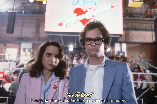 Shock Treatment Photo: Jessica Harper and Cliff De Young as Janet and Brad Majors