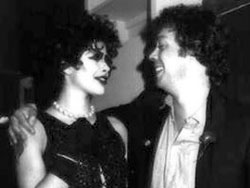 Dori Hartley with Tim Curry