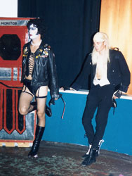Jeff with Josh Thomas as Riff Raff, Denver 1998